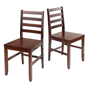 ladder back chairs with rush seats black winsome wood piece chair stickley for sale