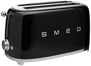 Smeg 4-Slice Toaster Black