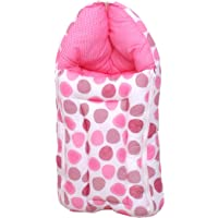 Toddylon Baby Fly 3 in 1 Baby's Cotton Bed Cum Sleeping Bag (Multicolour, 60 x 45 x 15 cm, 0 to 8 Months)