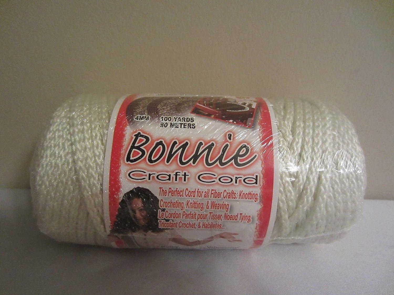 Bonnie craft cord 6mm - Amazon Com Bulk Buy Ivory Bonnie Braid Macrame Craft Cord 4mm 100yds 2 Pack Arts Crafts Sewing