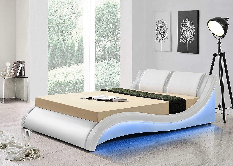 Designer King Size Bed Upholstered Platform Bed Luxury Bedroom Furniture