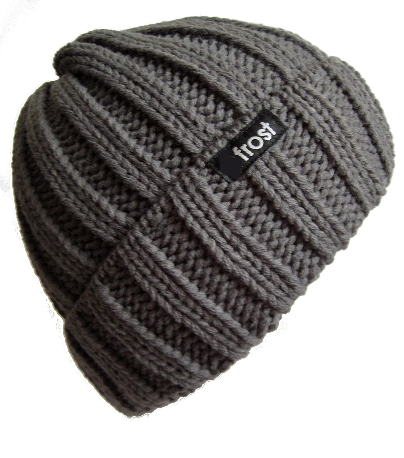 Frost Hats Fall Winter CHARCOAL Skully Hat Beanie Frost Hats at Amazon  Men s Clothing store  Skull Caps b62675252d2