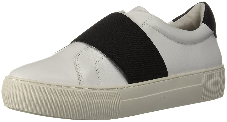 J Slides Women's Adorn Sneaker B076DZ2HS1 6.5 M US|White/Black
