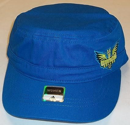 fa4a1742302b2 Amazon.com : adidas WNBA Dallas Wings Snap Back Military Hat, One ...