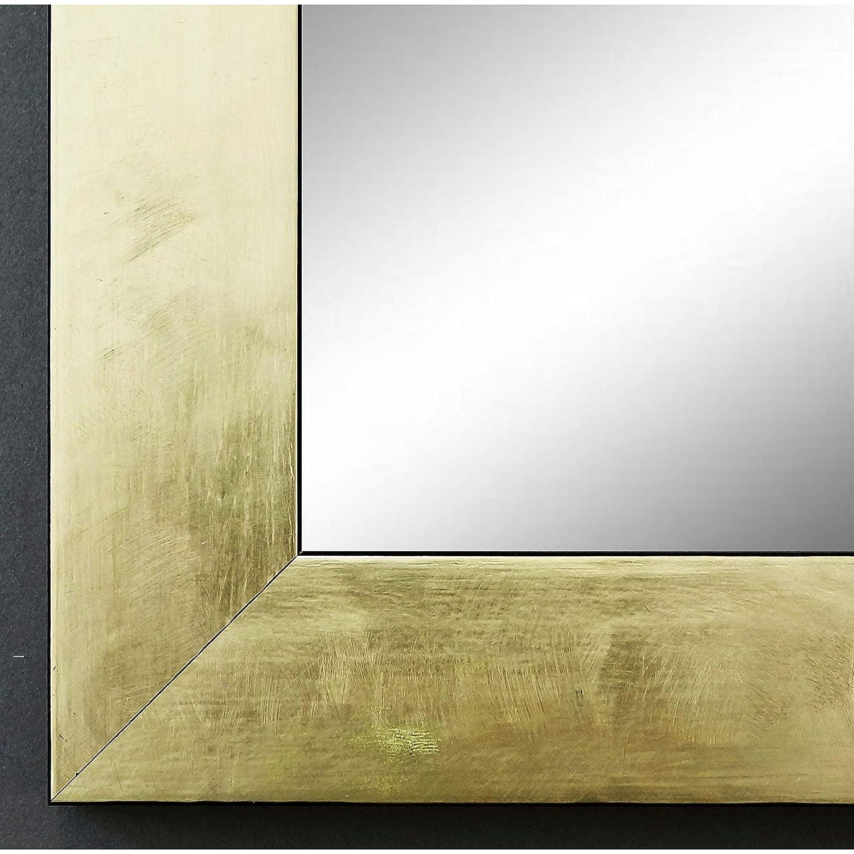 Online Galerie Bingold Spiegel Wandspiegel Badspiegel Flurspiegel Garderobenspiegel - Über 200 Größen - Lecce Gold 3,9 - Außenmaß des Spiegels 40 x 100 - Wunschmaße auf Anfrage - Antik, Barock