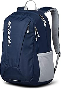 Columbia Unisex Tamolitch II Daypack Laptop School Student Backpack (Collegiate Navy/grey)