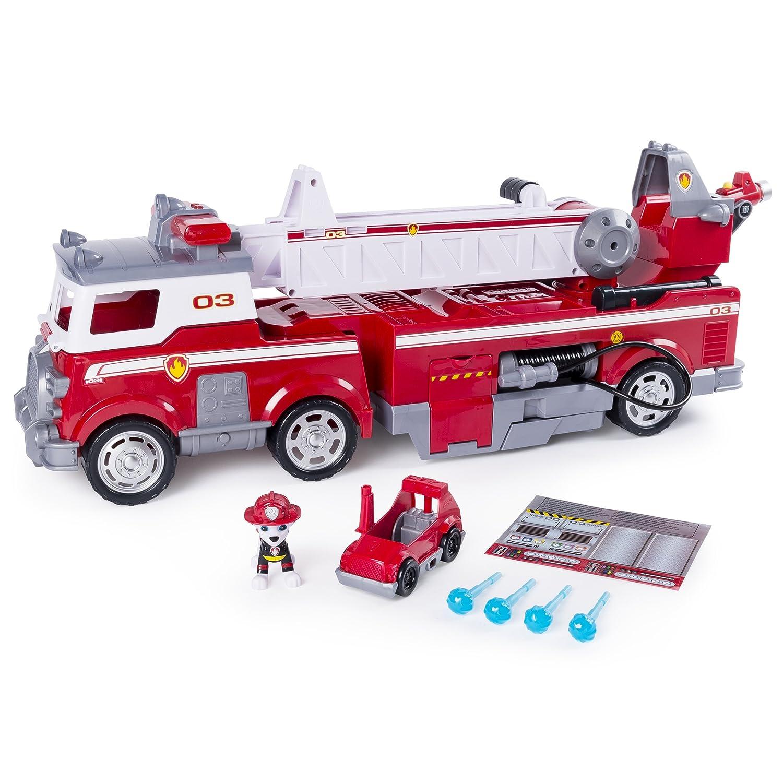 Paw Patrol 6043989 Jeu Enfant Camion De Pompiers Ultimate Rescue La Pat Patrouille