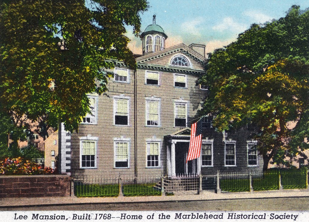 Marblehead、MA – Exterior View of the Lee Mansion、歴史社会 24 x 36 Giclee Print LANT-20460-24x36 B017ZK2FNM  24 x 36 Giclee Print