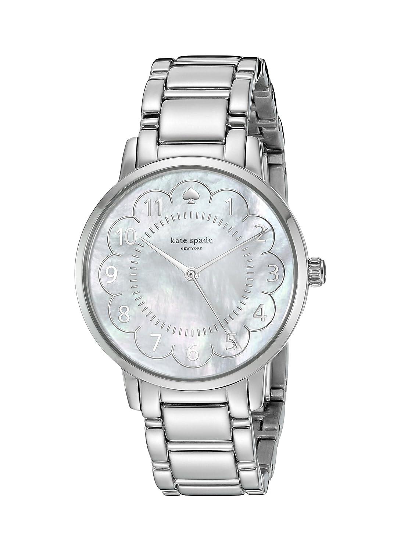 kate spade new york Women's 1YRU0792 Gramercy Silver-Tone Bracelet Watch