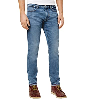 ce33b576822 Tommy Hilfiger Mens Kroy Selvedge Slim Fit Jeans Blue 34x32  Amazon.co.uk   Clothing