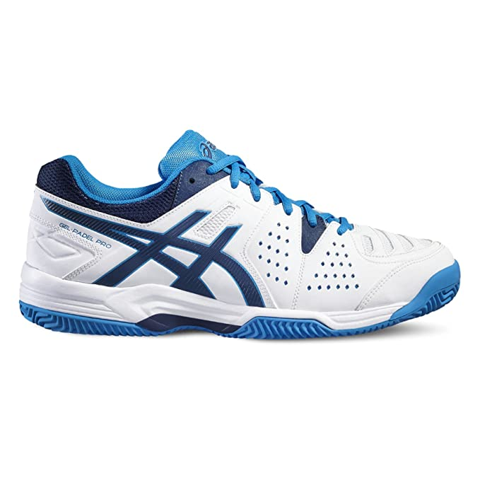 ASICS - Gel Padel Pro 3 SG, Color Blanco, Talla UK-9: Amazon.es: Deportes y aire libre