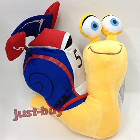 Turbo (2013) – Caracol de peluche Racer Turbo Stuffed Animal Oso Muñeca 10 ""