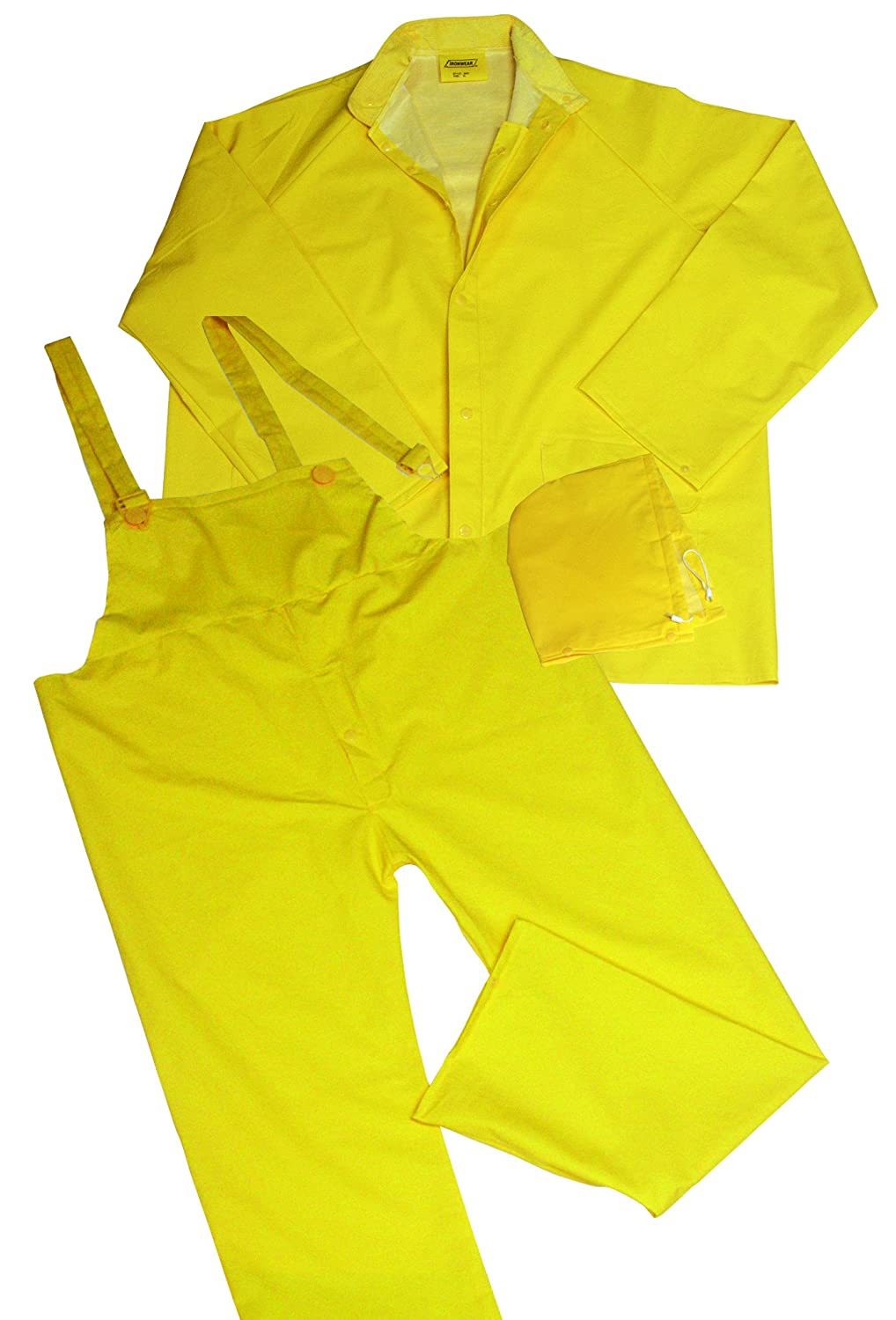 Ironwear 9200-Y .35mm PVC/Polyester fabric Rain Suit 5XL 9200-Y-5XL
