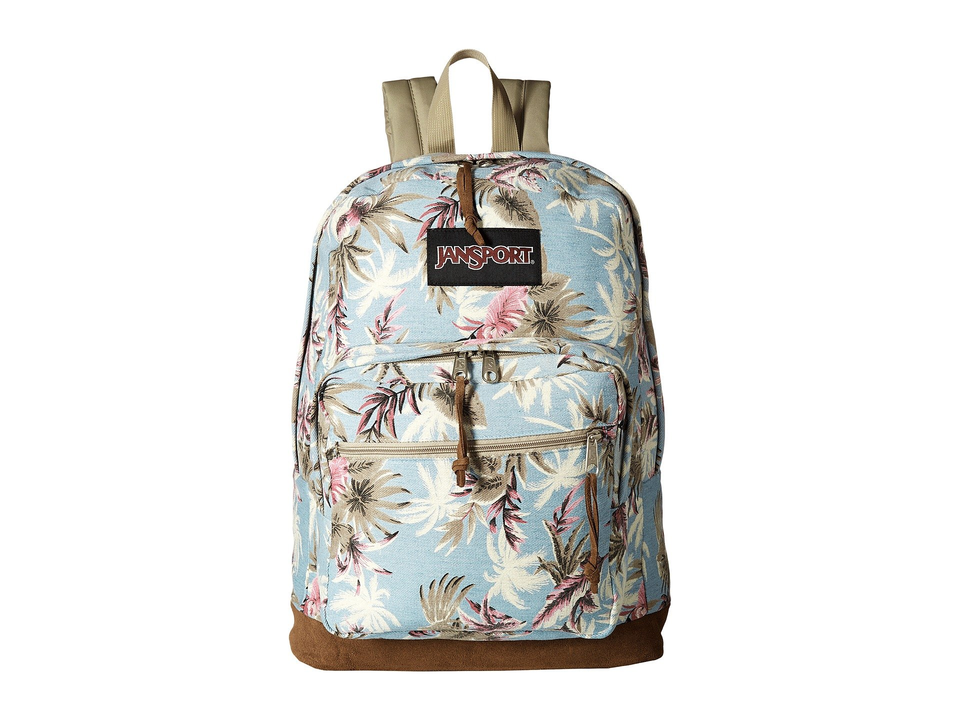 JanSport Unisex Right Pack Expressions Multi Palm Denim One Size