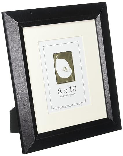 Amazon.com - 8x10 Executive Leather Frame -Textured Black - Limited ...