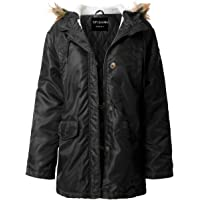 ViiViiKay Womens Classy Warm Fur Lined or Quilted Padded Parka Jackets