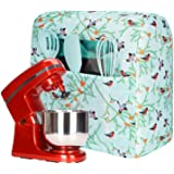 Stand Mixer Covers with Pocket and Cute Print,Kitchenaid Mixer Cover Compatible with 6-8 Quart Kitchenaid and Hamilton Mixers