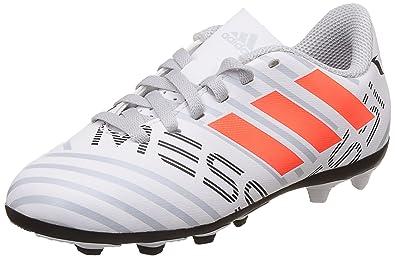 ff6d39d16b577 Adidas Boy's Nemeziz Messi 17.4 FxG J Sports Shoes: Amazon.in: Shoes ...