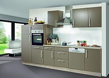 Miniküche Mit Kühlschrank Und Geschirrspüler : Nolte musterküche miniküche singleküche einbauküche