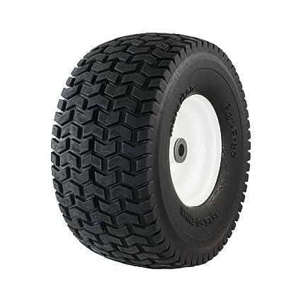 Amazoncom Marathon 15x650 6 Flat Free Tire On Wheel 3 Hub 34