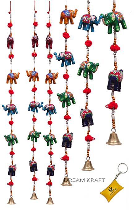 DreamKraft u0027Rajasthaniu0027 Elephant Door Hangings For Main Door Home Decor (96 CM)  sc 1 st  Amazon.in & Buy DreamKraft u0027Rajasthaniu0027 Elephant Door Hangings For Main Door ...