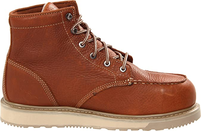 Timberland PRO Men's Barstow Wedge Safety Toe Brown Boot 14