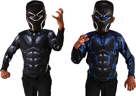 Rubies Marvel Black Panther 2-In-1 Reversible Costume Top & 2 Set ...