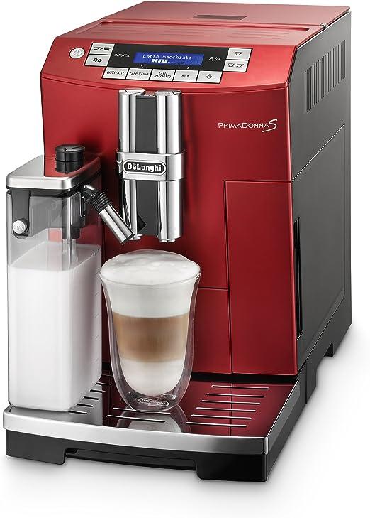 DeLonghi PrimaDonnaS - Cafetera automática, 1450 W, 2 L, color ...