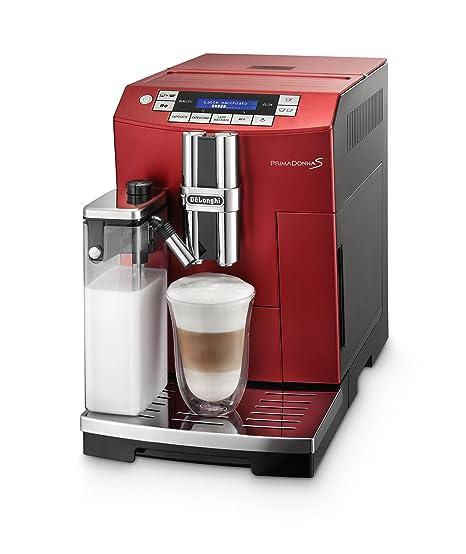 DeLonghi PrimaDonnaS - Cafetera automática, 1450 W, 2 L ...