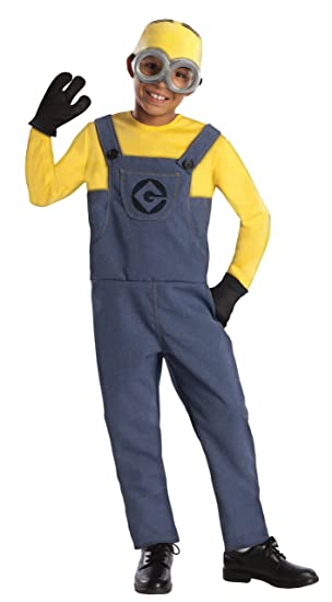 Despicable Me 2 Deluxe Dave Minion Costume Small  sc 1 st  Amazon.com & Amazon.com: Big Boysu0027 Minion Dave Costume: Toys u0026 Games