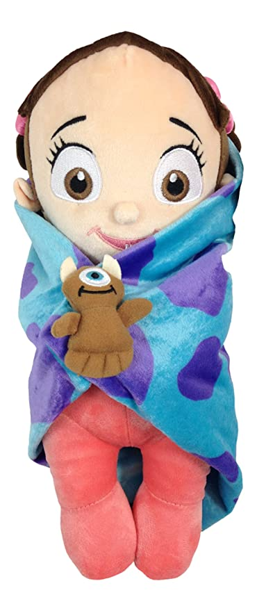 Amazon Com Disney Baby Boo In A Blanket Plush Doll Monsters Inc