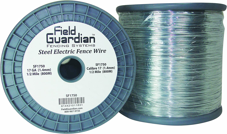 Field Guardian 17-Guage Galvanized Steel Wire, 1/2-Mile