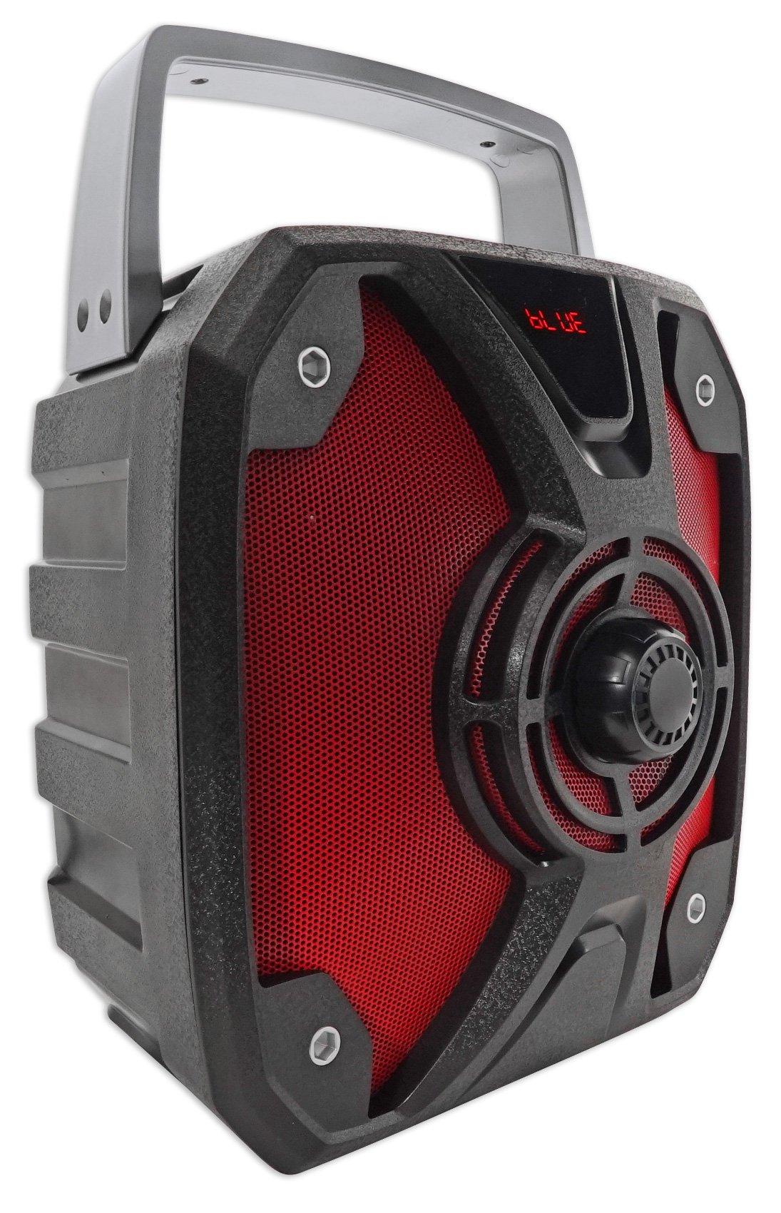Rockville ROCKBOX 6.5'' 100 Watt Portable Rechargable Bluetooth Speaker w USB/SD by Rockville (Image #2)