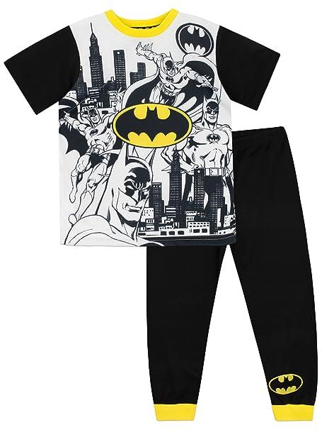 Batman Pijama para Niños DC Comics Multicolor 5-6 Años