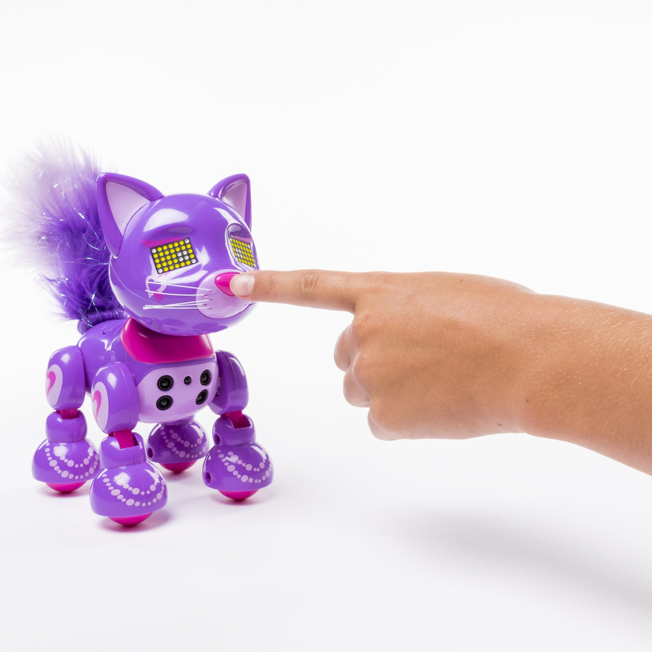 Zoomer Meowzies, Posh, Interactive Kitten with Lights, Sounds and Sensors by Zoomer (Image #5)