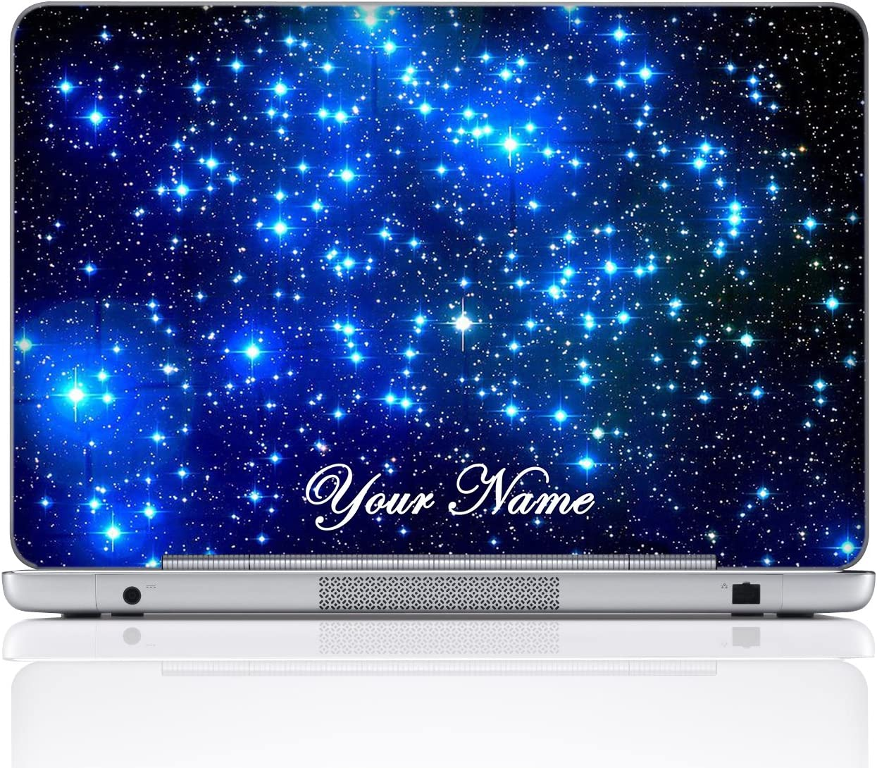17 Inch, Silver Metal Customize Your Name Meffort Inc Personalized Laptop Notebook Notebook Skin Sticker Cover Art Decal