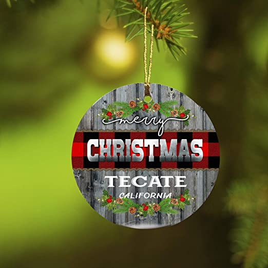 White Christmas At California 2020 Amazon.com: Christmas Ornaments 2020 Merry Christmas Tecate