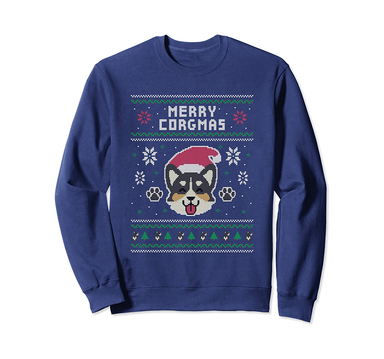 Official Corgi Ugly Christmas Sweater-Samdetee