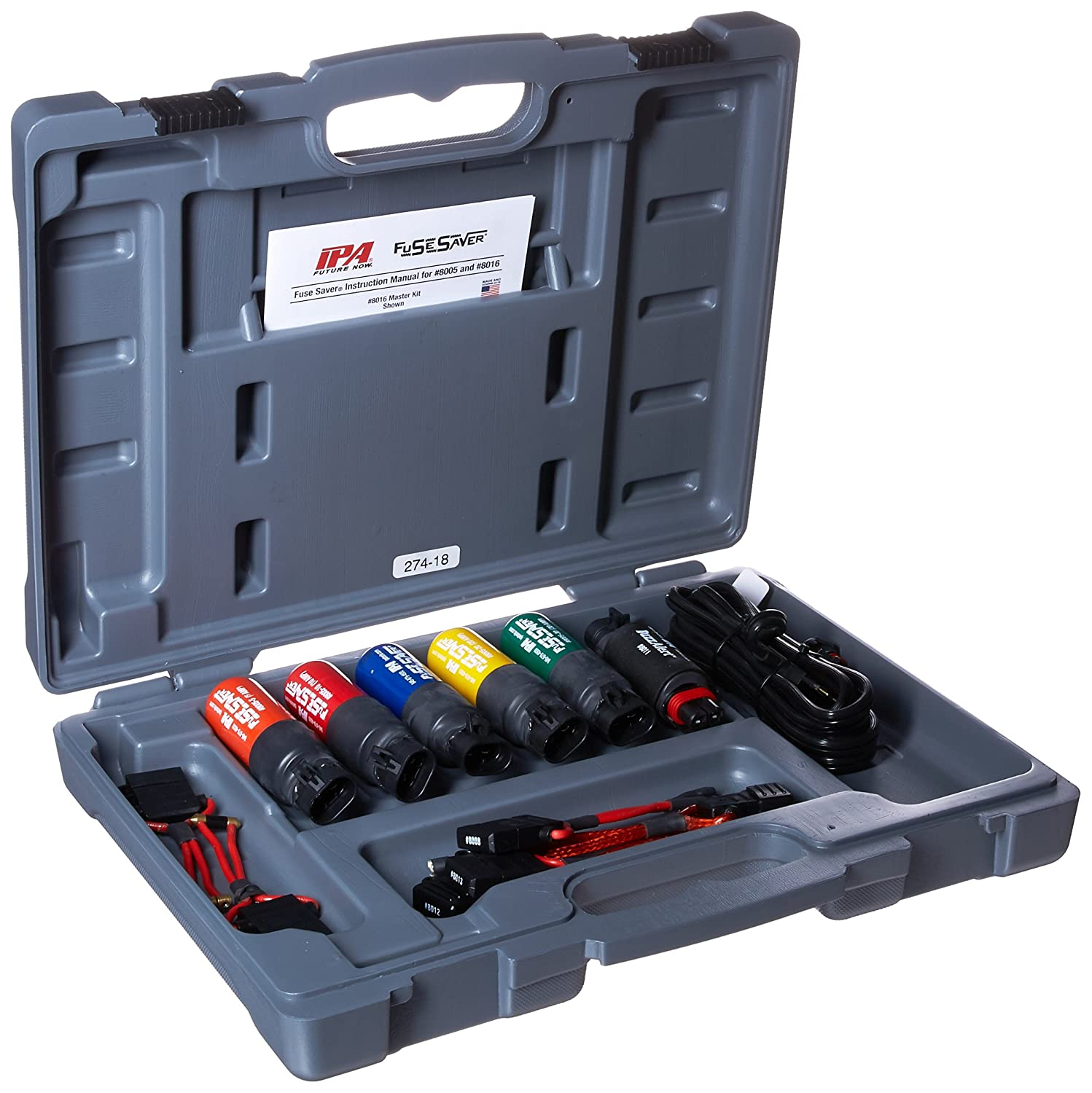 Innovative Products Of America 8016 Fuse Saver Master Home Box For Kit Automotive