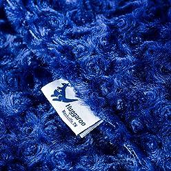 Huggaroo Adult Weighted Blanket (20 lbs, 60 x 80 inches)
