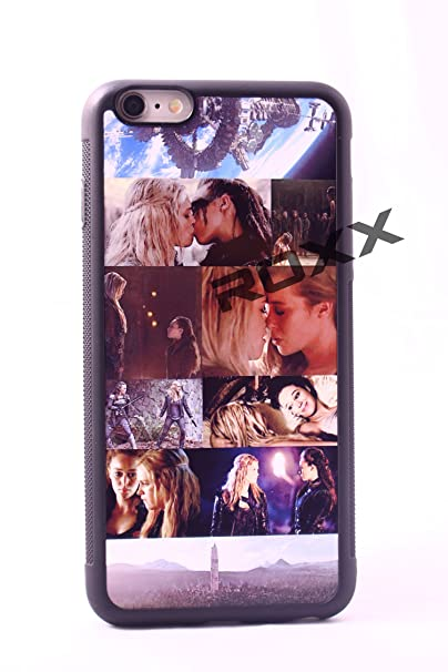 The 100 Clarke and Lexa iphone case