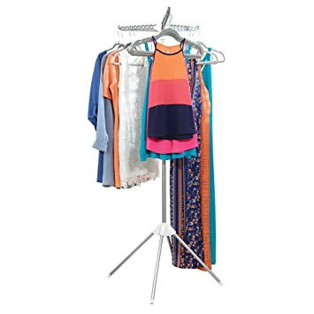 Collapsible Portable Indoor Tripod Clothes Drying Rack for Hanging Laundry US
