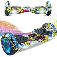 HappyBoard Hoverboard 6.5'' Patinete Eléctrico Bluetooth Monopatín Scooter autobalanceado, Ruedas de Skate con luz LED…