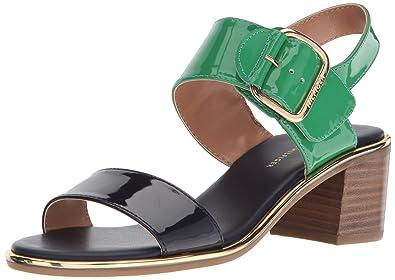 cfb3cab8ae Amazon.com | Tommy Hilfiger Women's Katz Heeled Sandal | Heeled Sandals