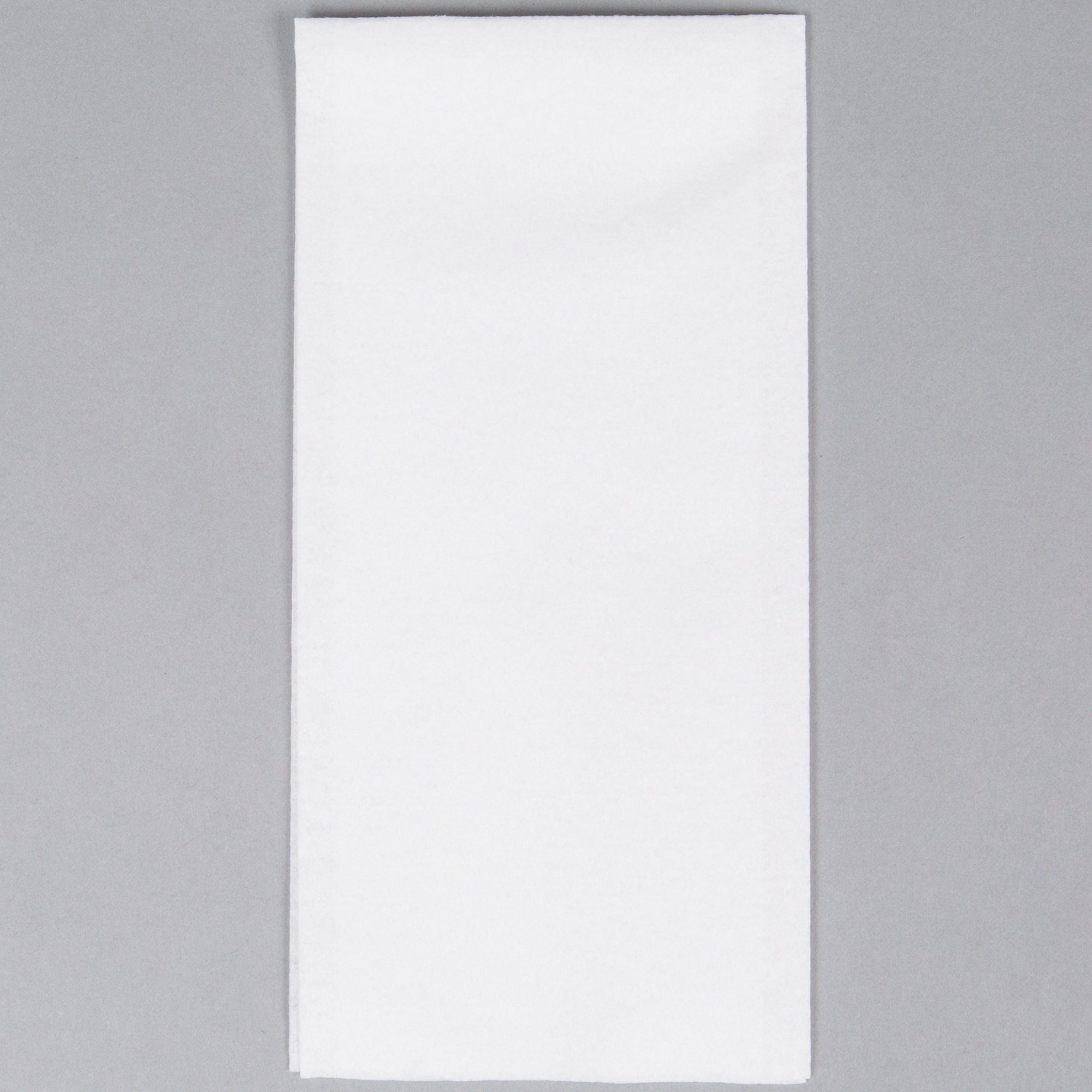 Hoffmaster 856499 Linen-Like 12'' x 17'' White 1/6 Fold Guest Towel - 500/Case
