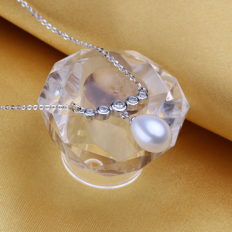 CS-DB Pendants Pearl Bohemian Silver Necklaces