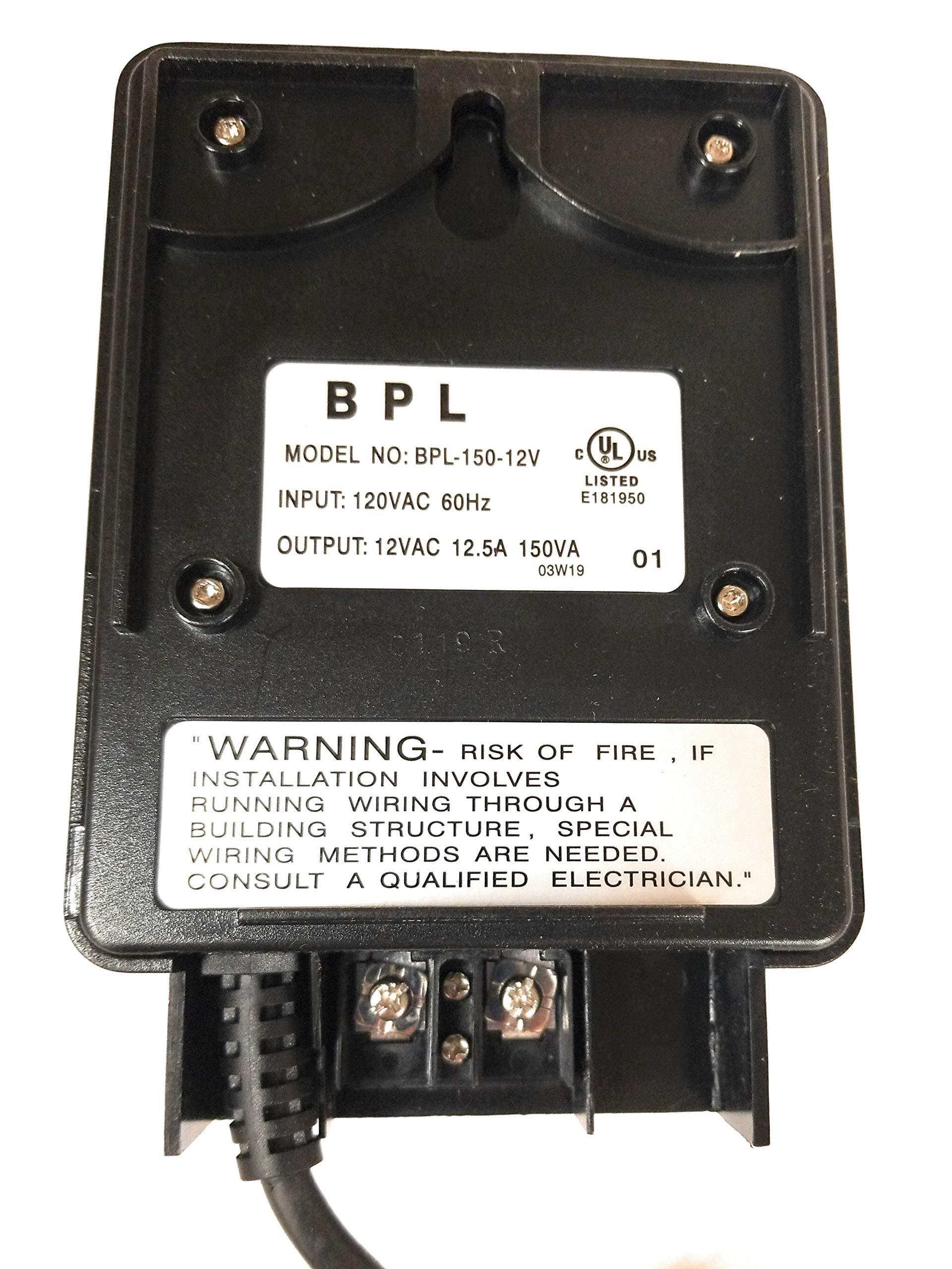Best Pro Lighting 150 Watt Black Plastic Transformer by Best Pro Lighting