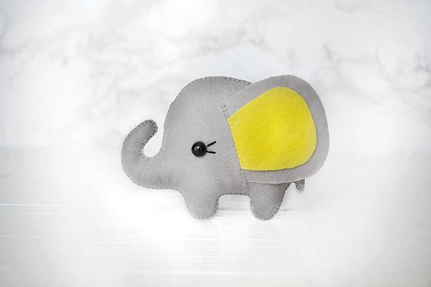 Elephant Baby Toy Decoration Stuffed Elephant Felt Elephant Soft Plush Elephant Toy Elephant Gift For Her Elephant Gift Stuffed Animals Zoo