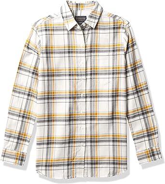 Women/'s Plaid Pendleton Button Up Shirt