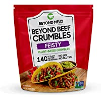 Beyond Beef Crumbles from Beyond Meat, Plant-Based Meat, Frozen, 10oz. Bag, Feisty Flavor